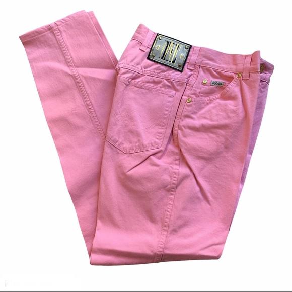 Escada by Margaretha Ley Vintage Jeans Pink Size 8